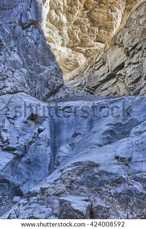 Mosaic Canyon, Death Valley National Park, California - stock photo