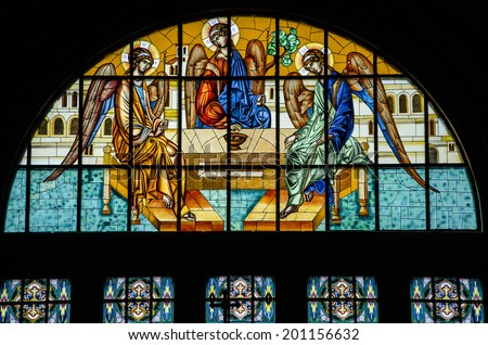 Church Window Stock Images Royalty Free Vectors
