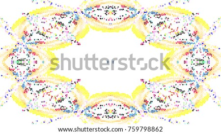 Mosaic colorful pattern for wallpapers, design and backgrounds