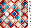 mosaic glass seamless pattern (raster version) - stock vector