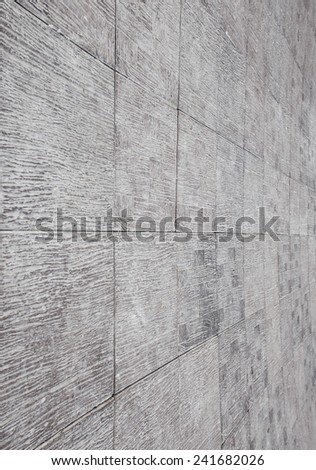 mosaic tile wall background - stock photo