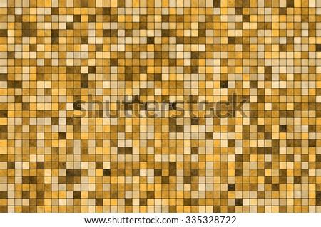 Mosaic tiles background - stock photo