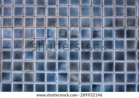 Mosaic tiles texture background - stock photo