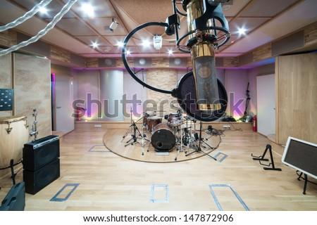 Stupendous Recording Studio Stock Images Royalty Free Images Vectors Largest Home Design Picture Inspirations Pitcheantrous