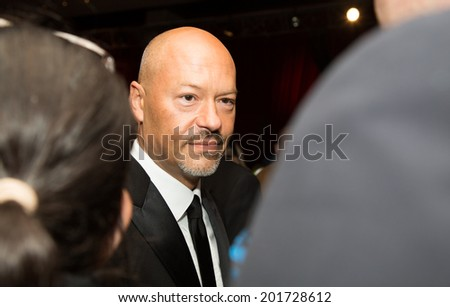 MOSCOW - JUNE, 28: Russian director F.Bondarchuk. 36st Moscow International Film Festival. Closing Ceremony at Rossiya Cinema . June 28, 2014 in Moscow, Russia