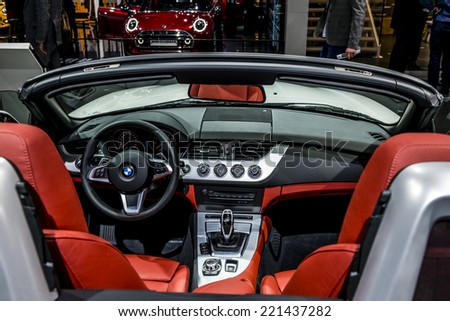 MOSCOW, RUSSIA - August 26:BMW cars at MIAS 2014 in Moscow, 26 August 2014