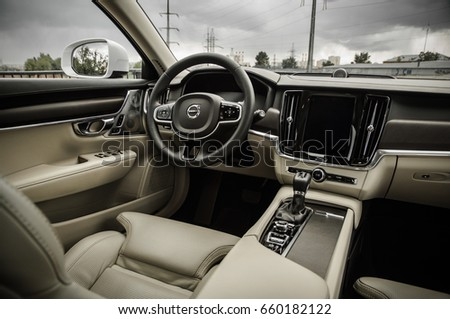 MOSCOW RUSSIA MAY 3 2017 VOLVO Stock Photo (Download Now) 660182122 ...