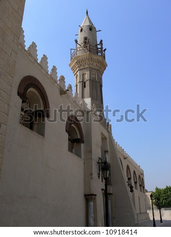 Mosque in Cairo, Egypt - stock photo