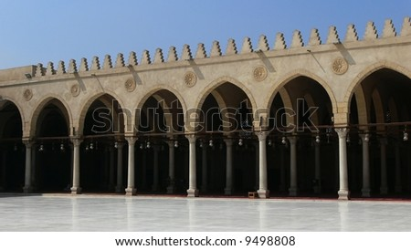 Mosque in Cairo - Egypt - stock photo
