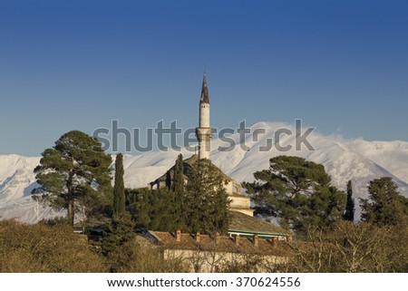 mosque in Ioannina Greece