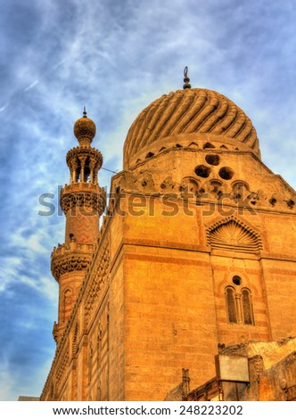 Mosque in the historic center of Cairo - Egypt - stock photo