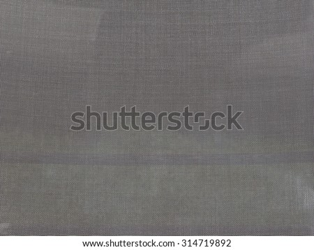 Mosquito nets for window - stock photo