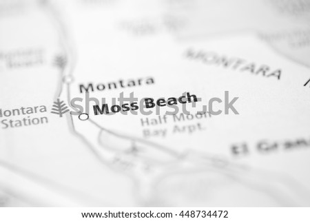 Moss Beach. California. USA