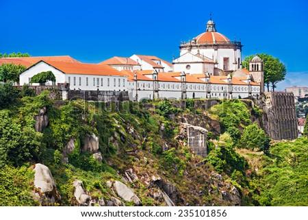 Mosteiro da Serra do Pilar, Porto, Portugal - stock photo