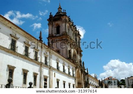 Mosteiro de Alcobaça - stock photo