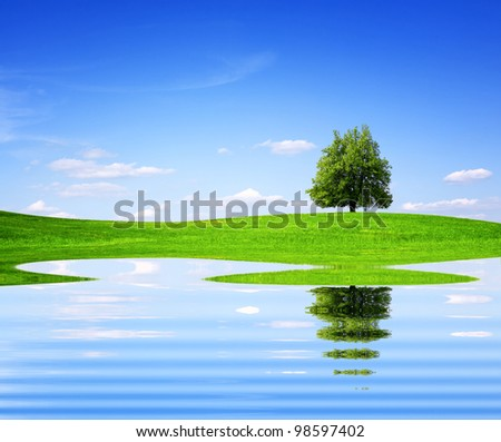 Mother Nature - stock photo
