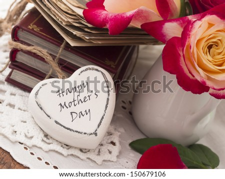 Mother''s day - stock photo