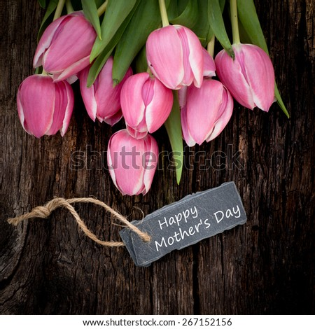 Mother's day - stock photo