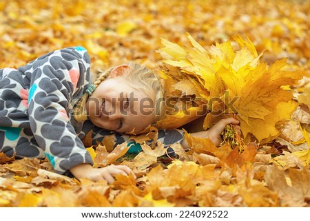 mother with daughter outdoors   - stock photo