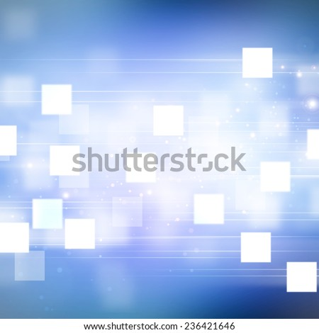 Motion on blue background, Blue abstract background.