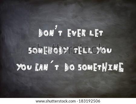 Motivation Speech - stock photo