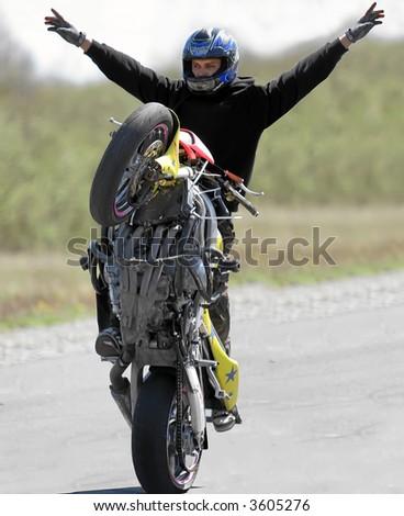 Motobike show - stock photo