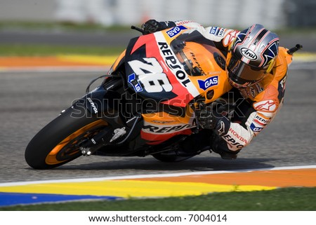 MotoGP World Championship in Valencia Cheste 2007 Spain