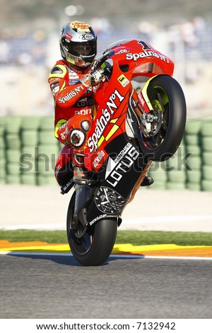 MotoGP World Championship in Valencia Cheste 2007 Spain - stock photo