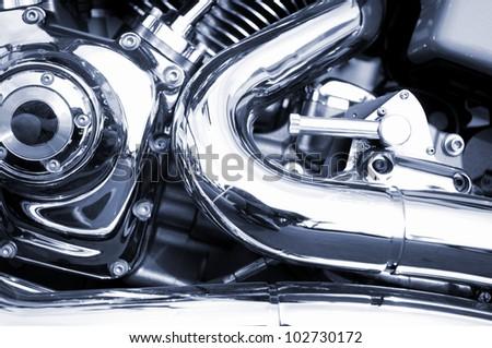 motorbike - stock photo