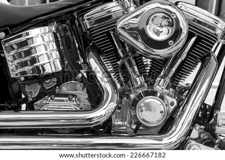 Motorcycle - stock photo