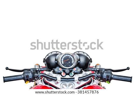 motorcycle background - stock photo