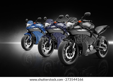 Motorcycle Motorbike Bike Riding Rider Contemporary Concept - stock photo
