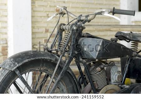 motorcycle war II - stock photo