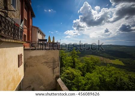 Motovun, Croatia - stock photo