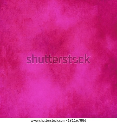 Mottled, hot pink background texture. - stock photo