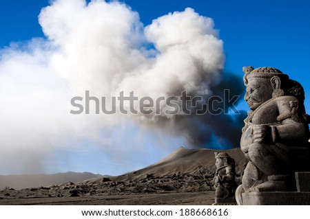 Mount Bromo - Indonesia - stock photo