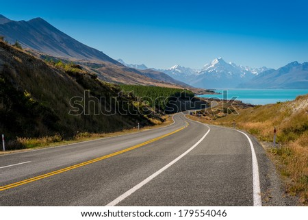 Mount Cook, South Island - New Zealand highest mountain