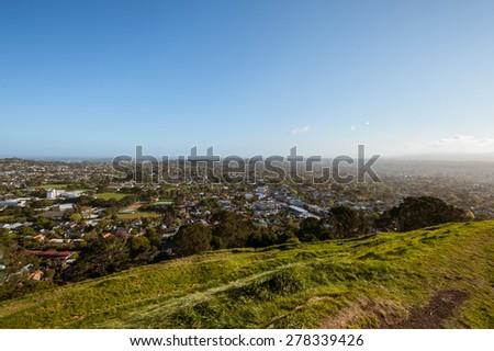 Mount Eden Auckland  - stock photo