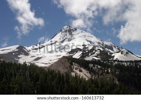 Mount Hood, Oregon - stock photo