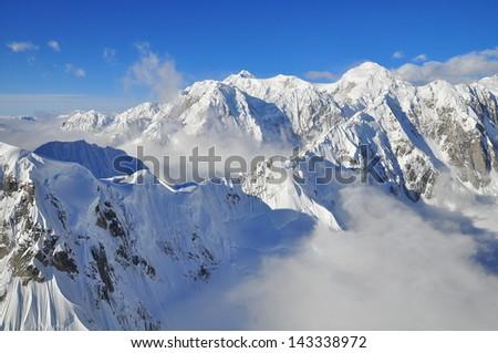 Mount McKinley - stock photo