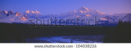 Mount McKinley, Alaska - stock photo