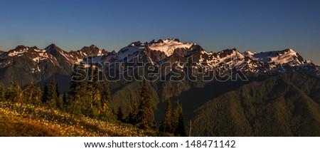 Mount Olympus - stock photo