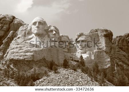 Mount Rushmore (1) - stock photo