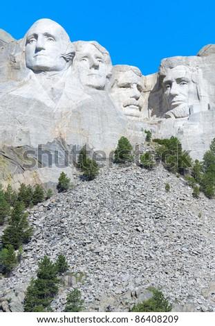 Mount Rushmore - stock photo