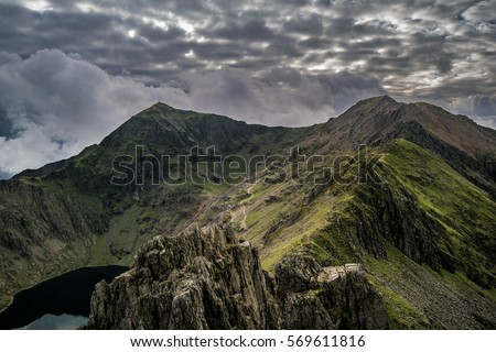 Mount Snowdon, Highest mountain in the UK and Wales