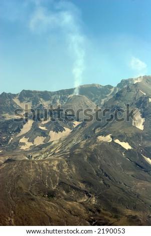 Mount St Helens - stock photo