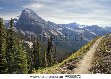 Mount Steven, Yoho National Park, Near Field, British Columbia, Canada - stock photo