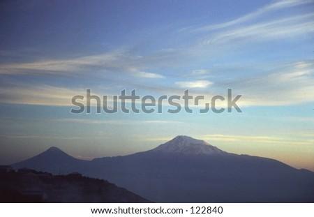 Mountain ARARAT - stock photo
