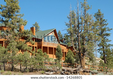 Mountain cabin; Big Bear Lake, California