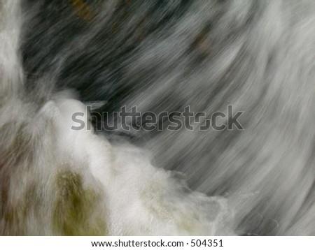 Mountain Foam - stock photo